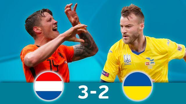 Pays-Bas - Ukraine (3-2): les meilleurs moments de la victoire néerlandaise