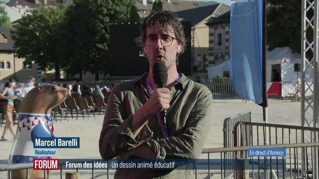 """Forum des idées – Le court-métrage """"Dans la nature"""" de Marcel Barelli [RTS]"""