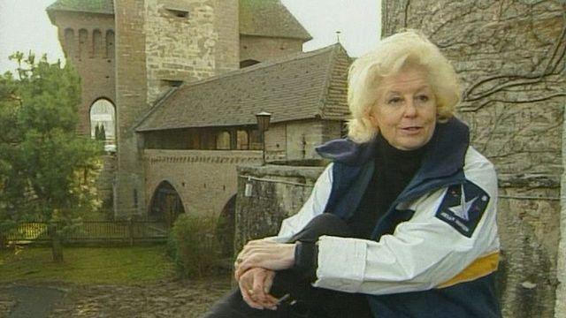 Phyllis Prittchett, une Américaine à Estavayer-le-Lac [RTS]