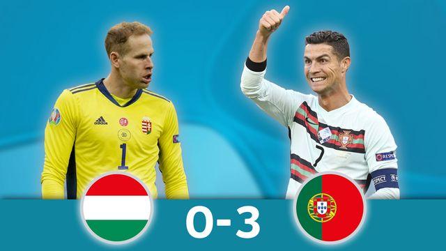 Hongrie - Portugal (0-3)