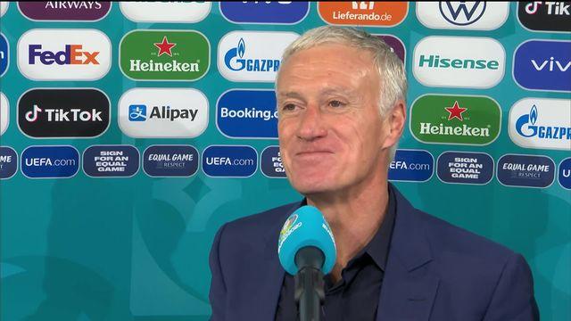La réaction de Didier Deschamps après la victoire [RTS]