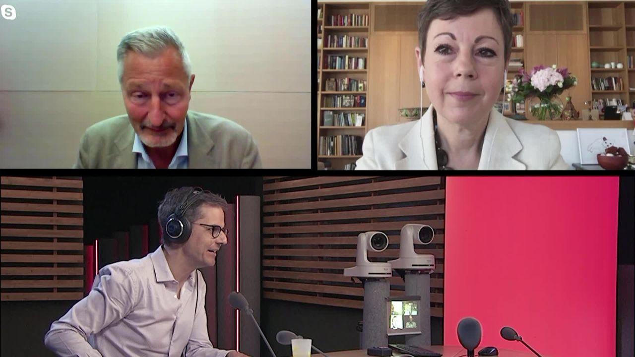 Les invités de La Matinale (vidéo) - Kristina Marty Lang et Jacques Pitteloud, ambassadeurs suisses en Russie et aux Etats-Unis [RTS]
