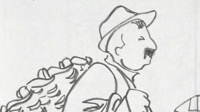 Dessin de Géa Augbourg, illustrateur vaudois [RTS]