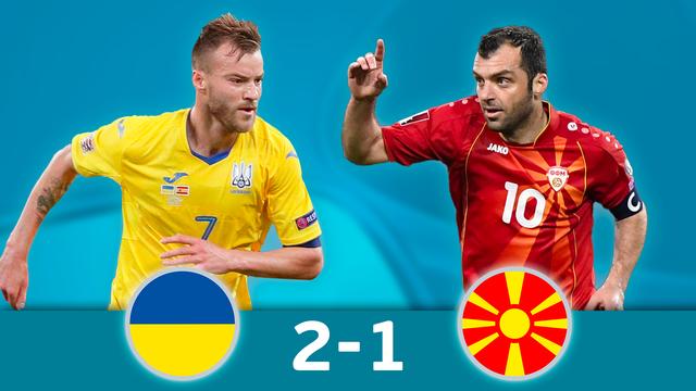 Ukraine Macedoine