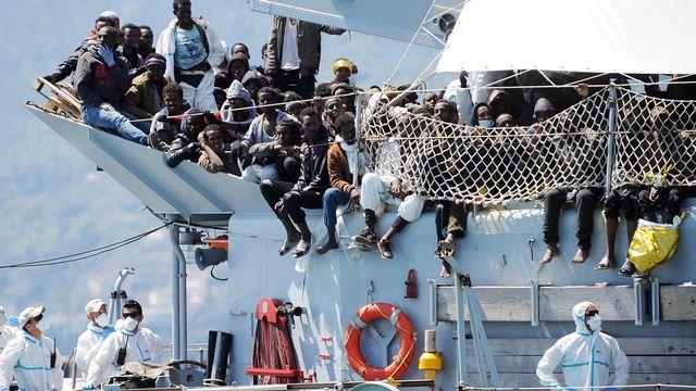 Le nombre de déplacés dans le monde a atteint un nouveau record l'année passée. [Francesco Pecoraro - AP]