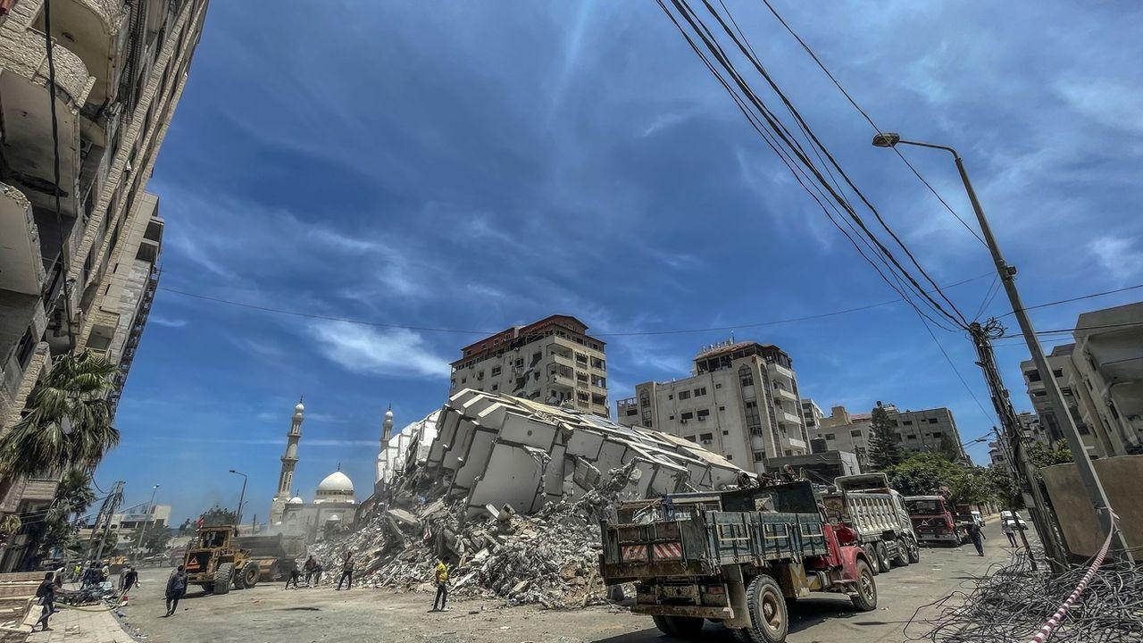 Israël a mené une seconde série de frappes sur Gaza depuis la fin de la guerre-éclair. [MOHAMMED SABER - EPA]