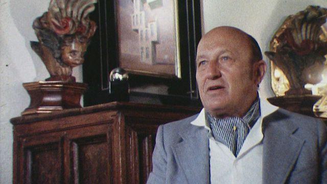 Frédéric Dard en 1982. [RTS]