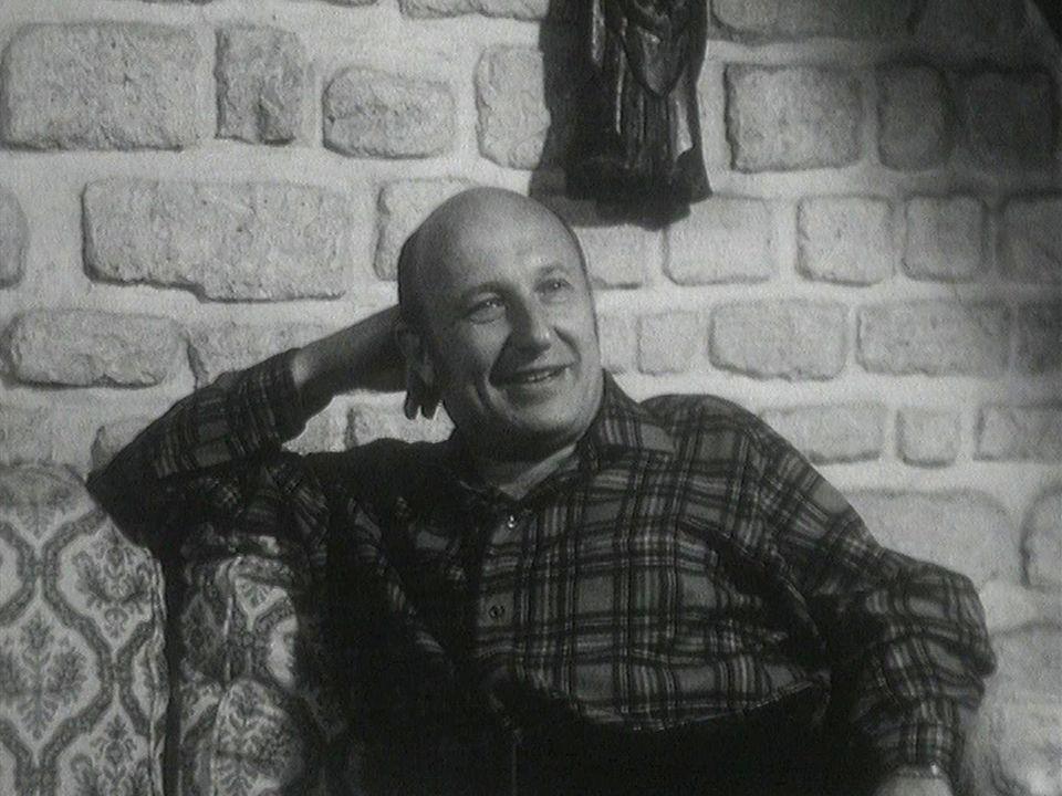 L'écrivain français Frédéric Dard en 1967. [RTS]