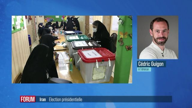 L'Iran élit son président; l'ultraconservateur Raïssi grand favori [RTS]