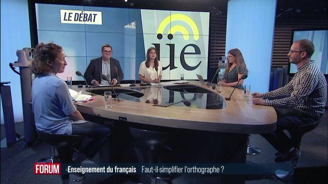 Le débat - Faut-il simplifier l'orthographe à l'école? [RTS]