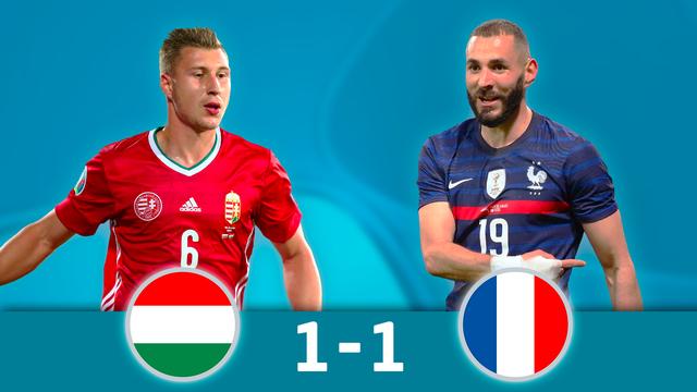 Hongrie - France (1-1)