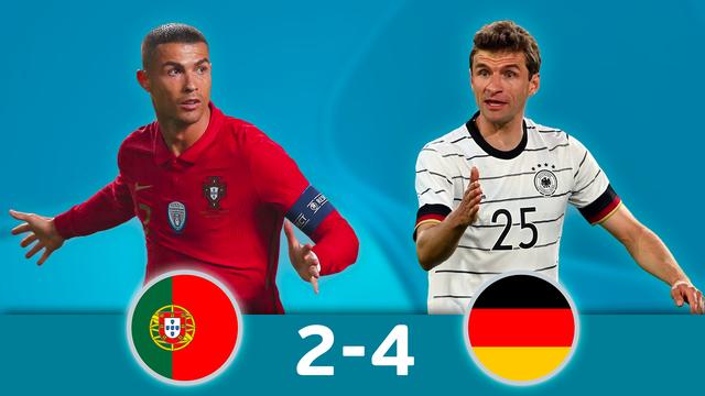 Portugal - Allemagne (2-4)