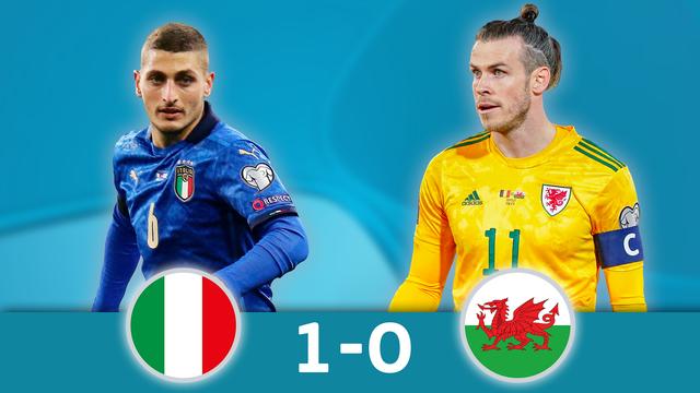Italie - Pays de Galles (1-0): les Gallois s'inclinent sur la plus petite des marges et se qualifient pour la suite du tournoi