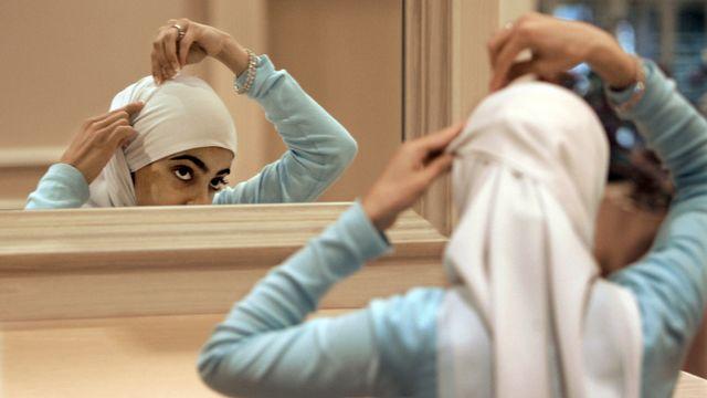 Le hijab, voile islamique couvrant les cheveux. [M. Spencer Green / AP Photo - Keystone]