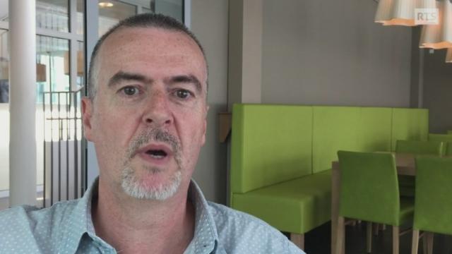 Dean Gill, prévisionniste chez MétéoSuisse. [RTS]