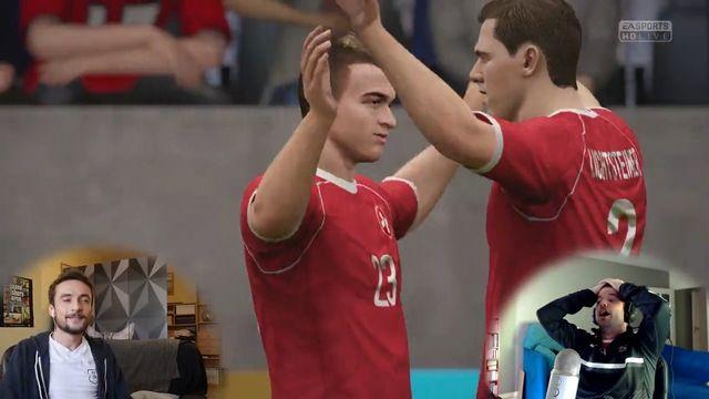 L'équipe suisse de football dans sa version virtuelle [RTS]