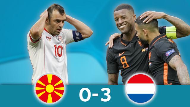 Macédoine du Nord - Pays-Bas (0-3): les meilleurs moments de la victoire néerlandaise