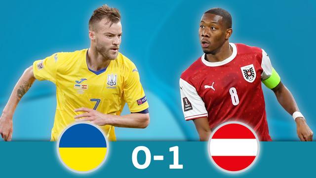 Ukraine - Autriche (0-1): l'Autriche se qualifie pour les huitièmes