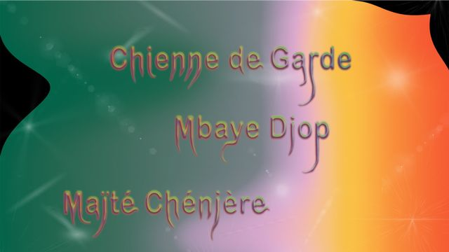"L'affiche de l'exposition ""Noircir 'eeeeh!': Visions afrofuturistes à Nyon"". [eeeeh!]"