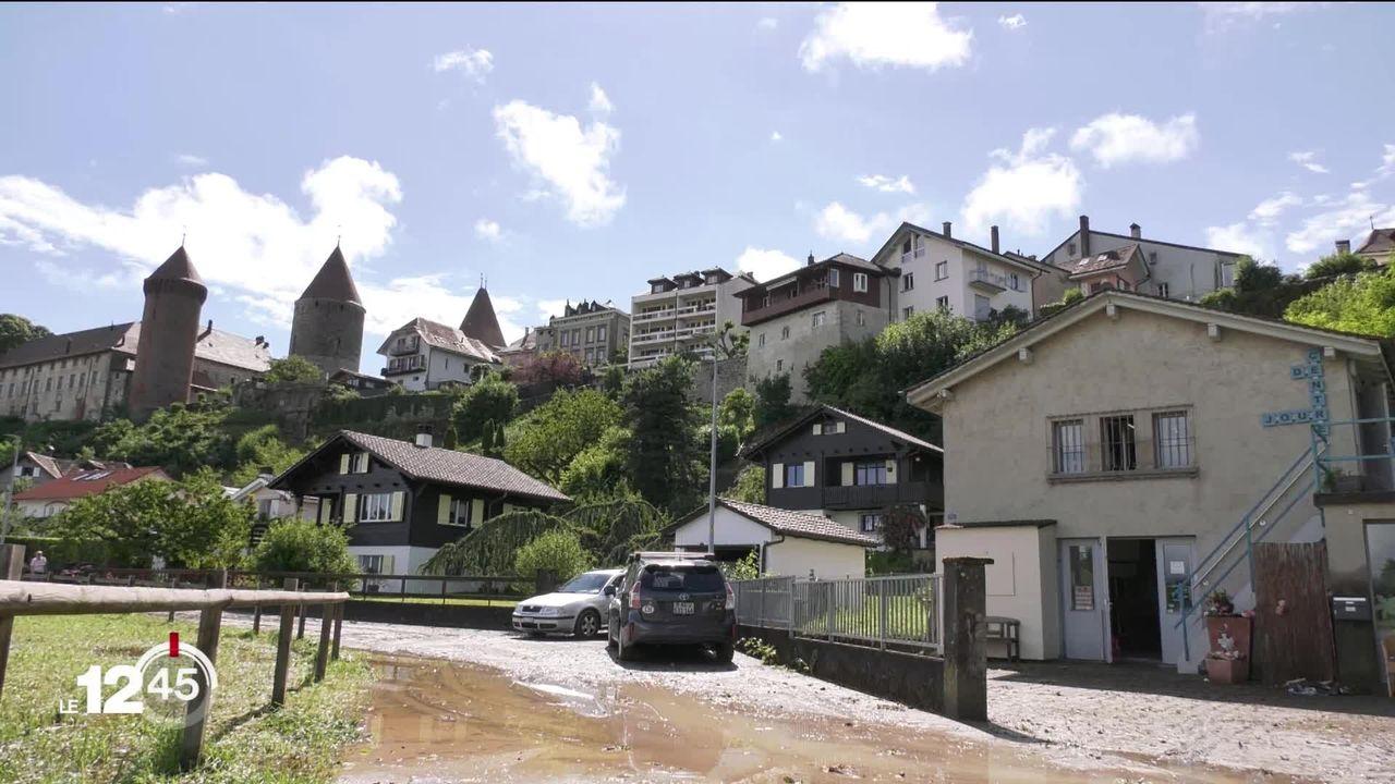 De violents orages ont provoqué d'importants dégâts en Suisse ces dernières 24 heures. [RTS]