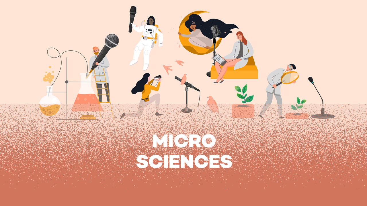 Logo émission (Podcasts originaux) - Micro sciences [RTS - RTS]