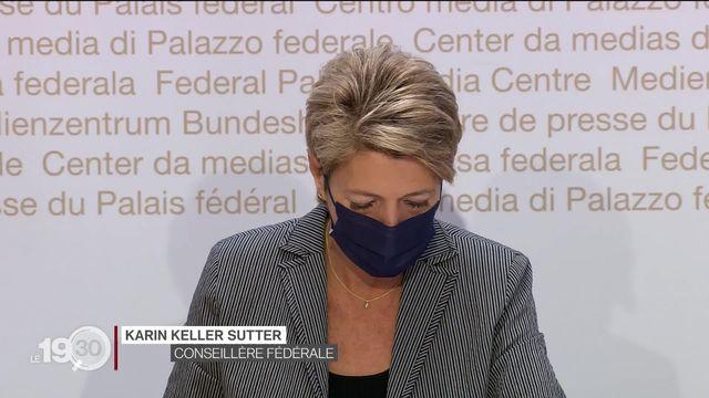 La conseillère fédérale Karin Keller-Sutter lance la campagne en faveur du mariage civil pour toutes et tous [RTS]