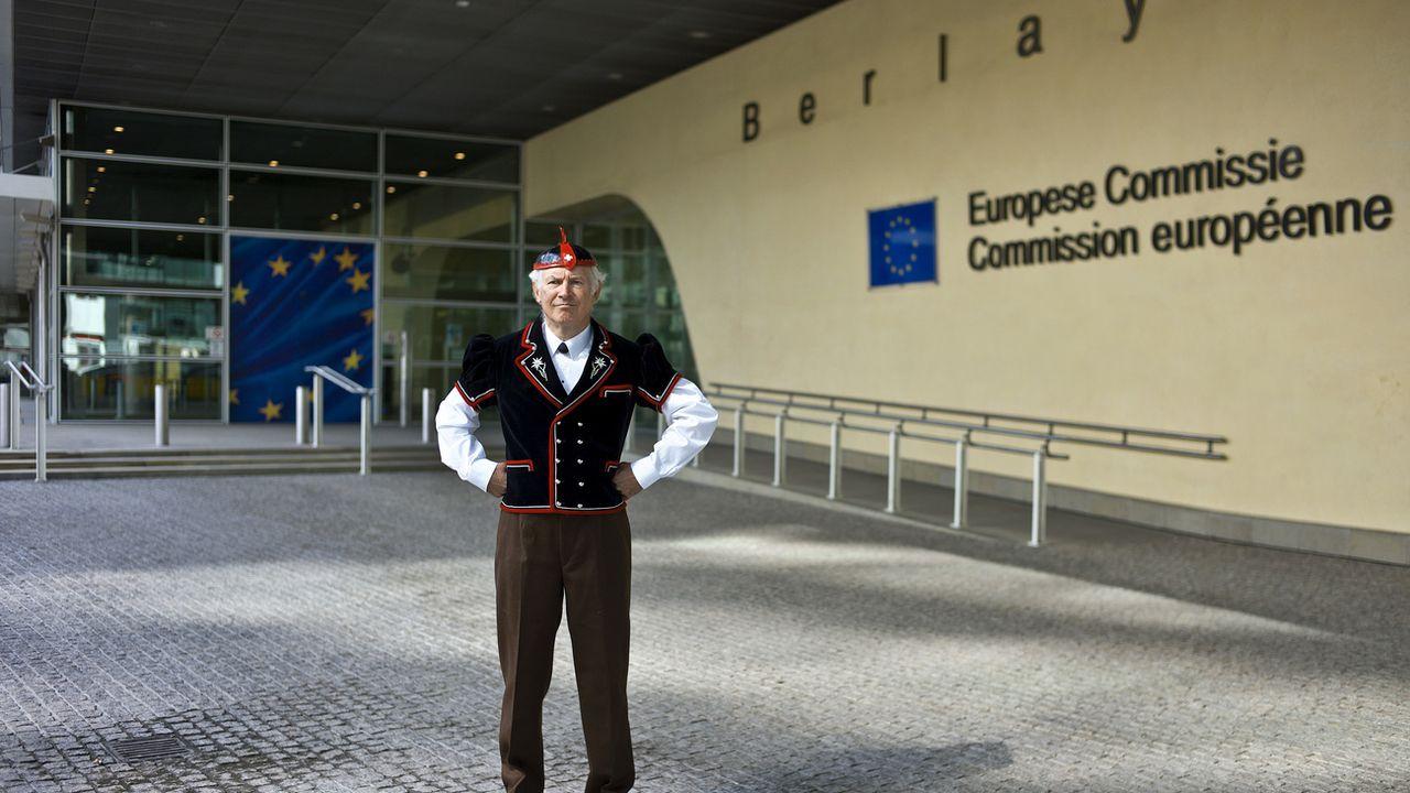 L'UE présentera en automne des détails sur l'avenir des relations avec la Suisse [Martin Ruetschi - Keystone]