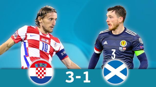 Croatie - Ecosse (3-1): Un excellent Modric permet à la Croatie de poursuivre l'aventure