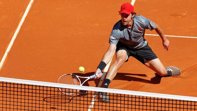 Dominic Thiem foulera à nouveau la terre battue du Swiss Open de Gstaad. [Chema Moya - Keystone]