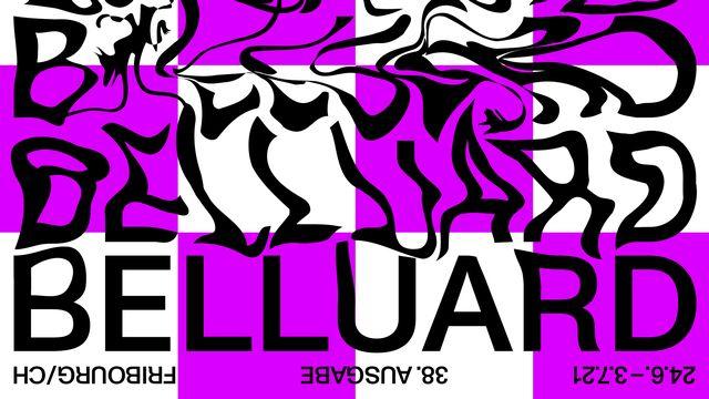 L'affiche du festival Belluard 2021.