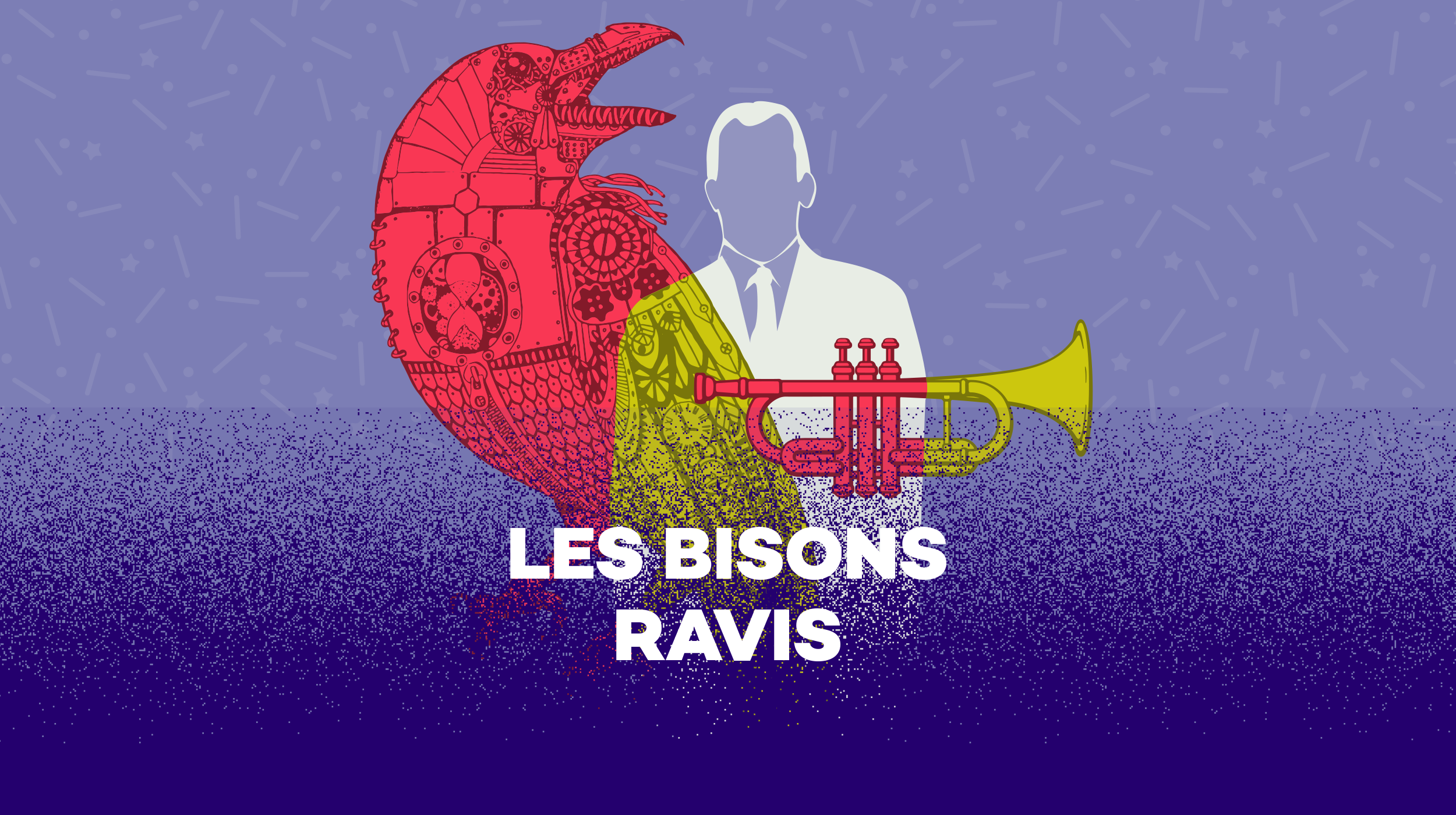 Logo Les bisons ravis [RTS]