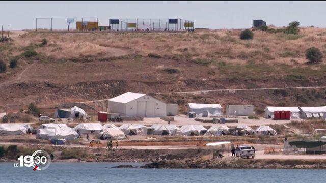 Notre série sur les migrations nous emmène sur l'île grecque de Lesbos, frontière orientale de l'Europe [RTS]