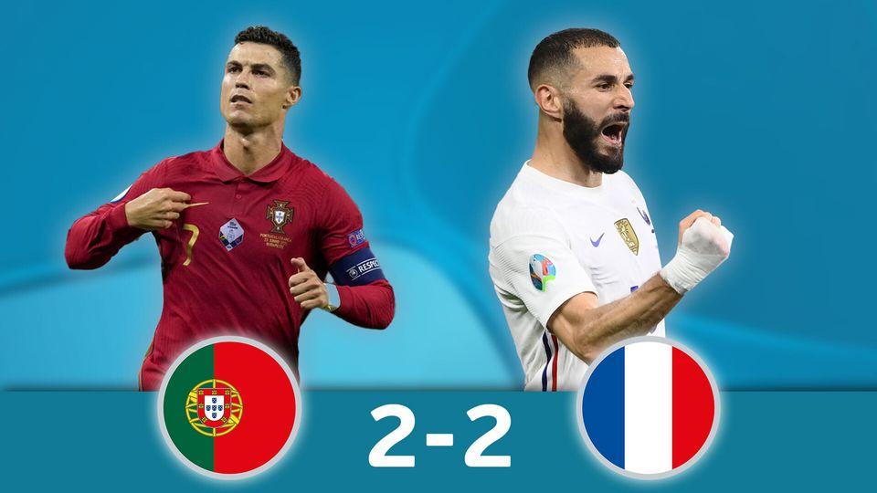 Portugal - France (2-2): les meilleurs instants de la rencontre
