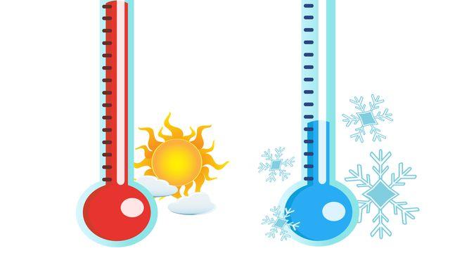 Il y a de gros écarts de température sur la Terre. huhulin Depositphotos [Il y a de gros écarts de température sur la Terre. huhulin - Depositphotos]