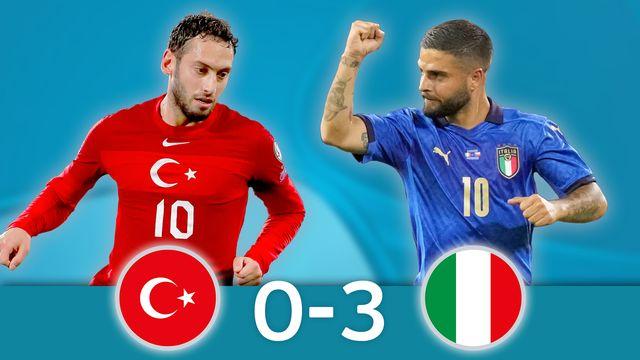 Turquie - Italie (0-3): entame parfaite de la Squadra Azzura ! [RTS]