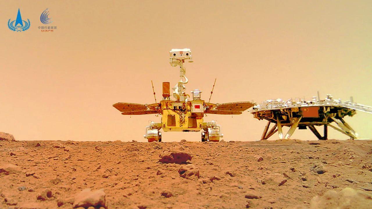 La Chine poursuit ses ambitions martiennes. [China National Space Administrat - EPA]