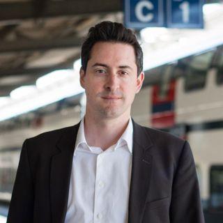 Frédéric Revaz, porte-parole des CFF pour la Suisse romande. [CFF]