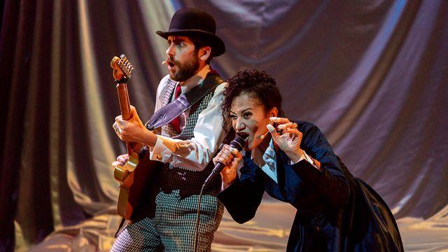 """Le spectacle """"Le Prince de la Terreur"""" au théâtre Am Stram Gram à Genève. [©Am Stram Gram]"""