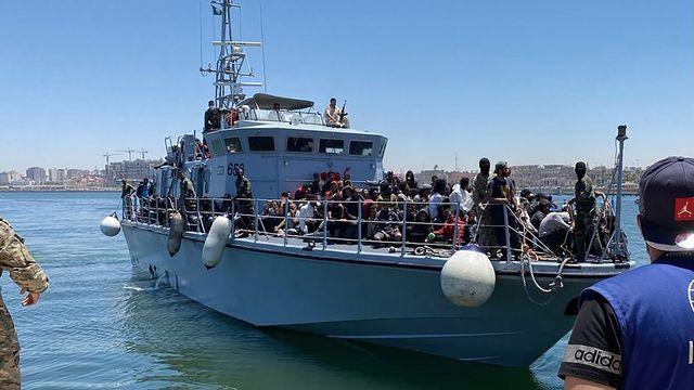Les conditions se dégradent pour les migrants en Libye. [IOM - AP]