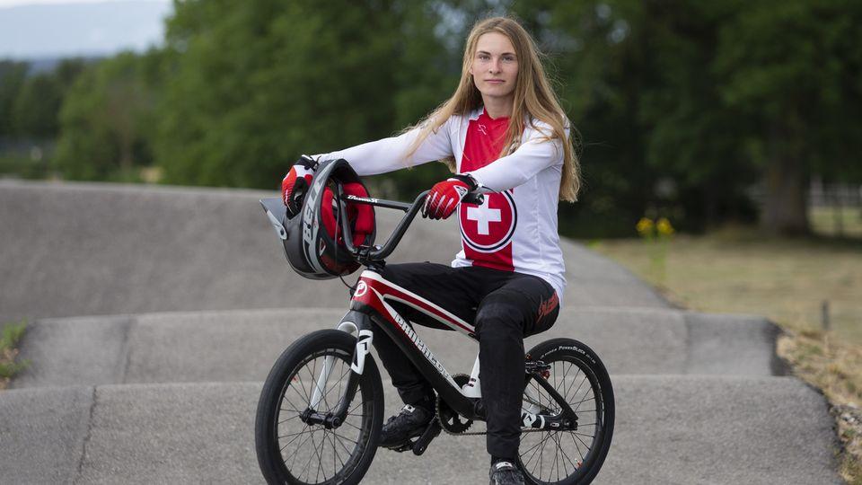 Zoe Claessens prendra part à ses 1ers Jeux olympiques. [Peter Klaunzer - Keystone]