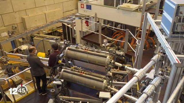 Dans ce laboratoire de l'EPFL, des millions de francs issus de fonds européens soutiennent une recherche sur l'énergie nucléaire du futur. [RTS]