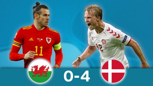 1-8, Pays de Galles – Danemark (0-4): le Danemark humilie le Pays de Galles et file en 8es