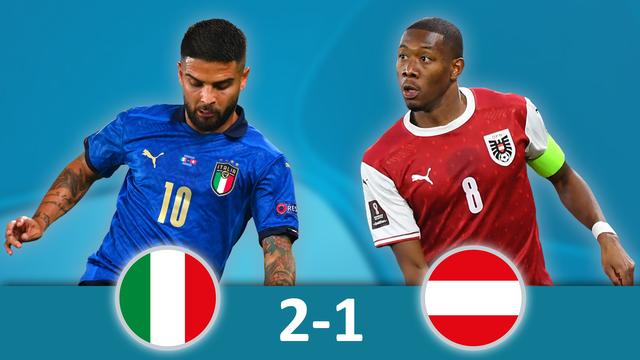1-8, Italie – Autriche (2-1 ap): la Squadra passe en quarts dans la douleur