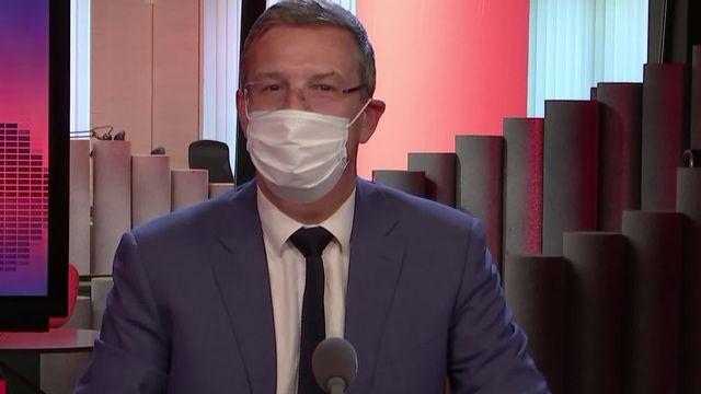 L'invité de La Matinale (vidéo) - Christophe Reymond, directeur du Centre patronal [RTS]