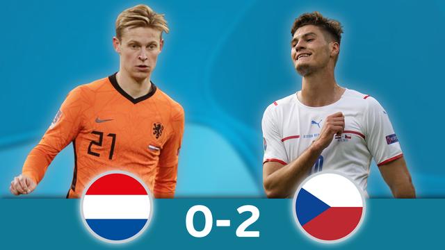 1-8, Pays-Bas - République Tchèque (0-2): les meilleurs de la victoire surprenante des Tchèques