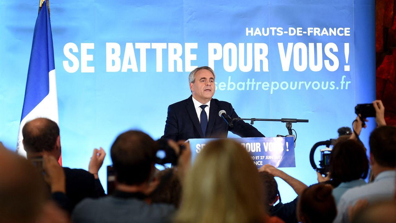 Xavier Bertrand.  [FRANCOIS LO PRESTI - AFP]