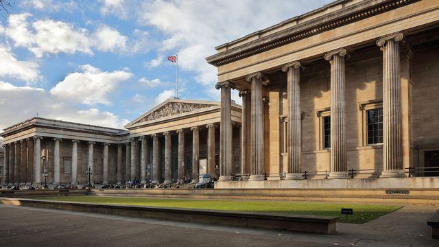 Le British Museum de Londres. [Manuel Cohen - AFP]
