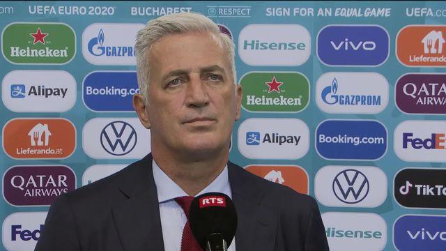 1-8, France - Suisse (3-3, 4-5 tab): la réaction de l'entraineur Petkovic [RTS]
