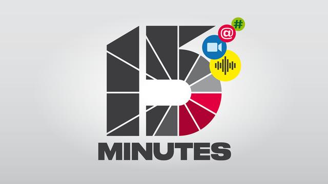 Quinze minutes. [RTS]