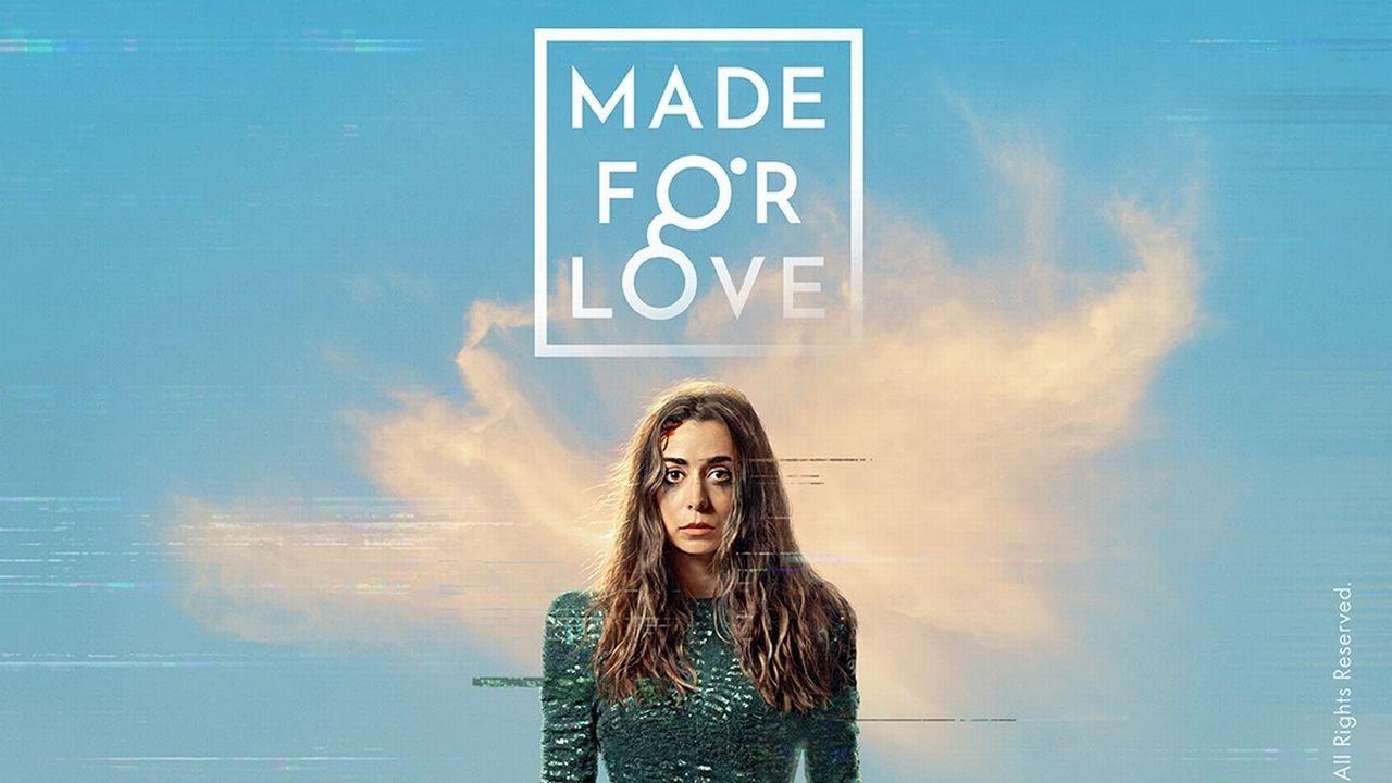 """L'affiche de la série """"Made for Love"""". [HBO/Canal +]"""